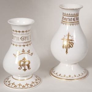 Pair of altar vases-0