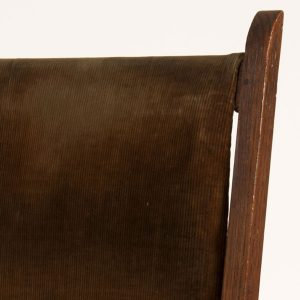 Reclining oak chair-152