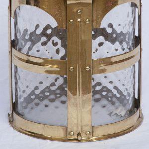 Brass lantern-75