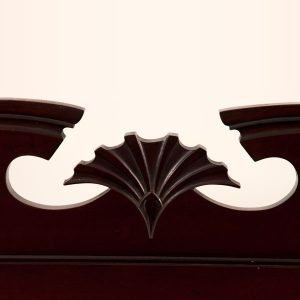 Inlaid mahogany cabinet-233