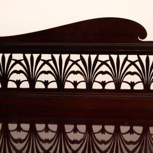Inlaid mahogany cabinet-232