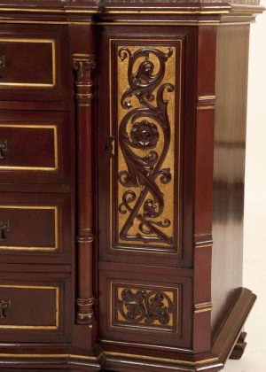 Mahogany chest of drawers probably Gillows-295