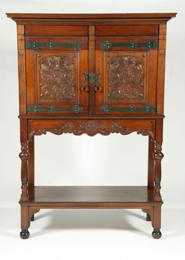 Dutch Arts & Crafts cabinet. Probably Amsterdam School-0