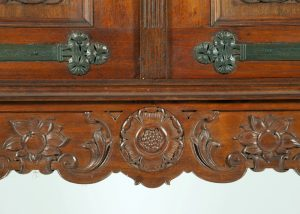 Dutch Arts & Crafts cabinet. Probably Amsterdam School-297