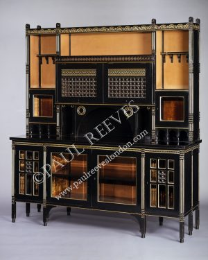 Christopher Dresser for The Art Furniture Alliance a cabinet.-0