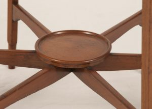 A Morris & Co. walnut occasional table-435