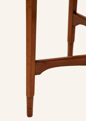 A Morris & Co. walnut occasional table-433