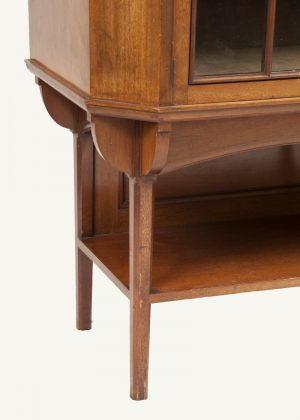 A walnut cabinet-417