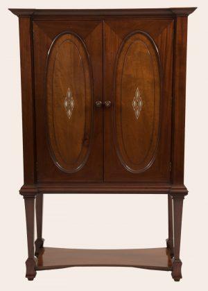A mahogany cabinet-0