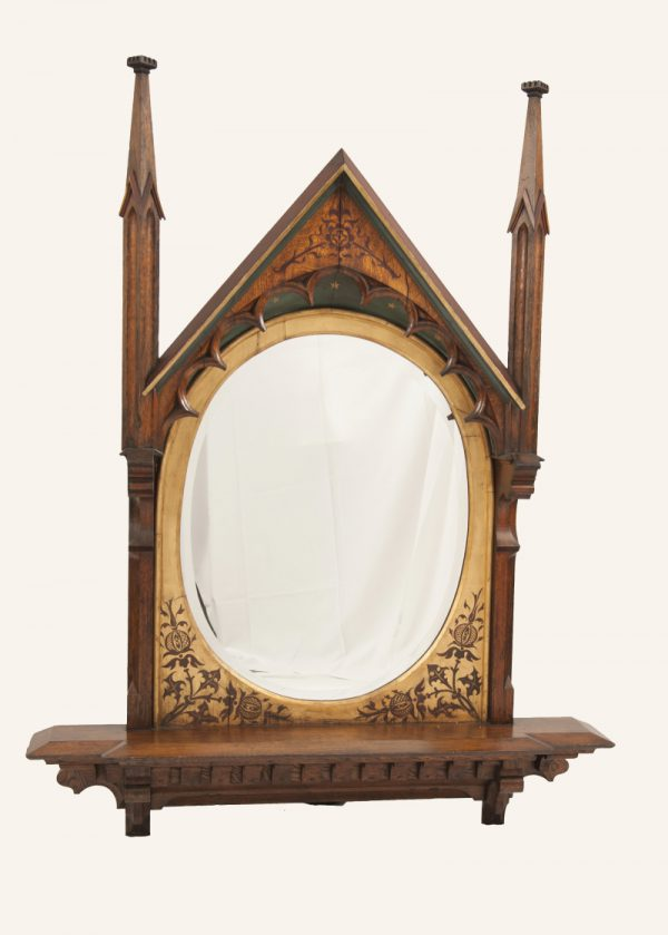 A Gothic Revival mirror-0