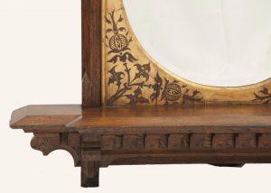 A Gothic Revival mirror-452