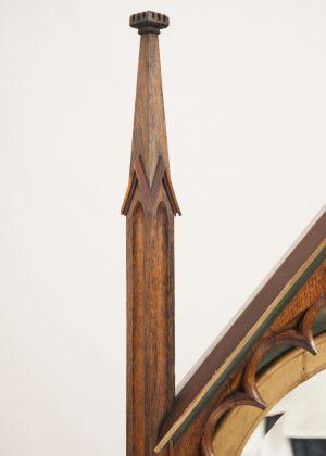 A Gothic Revival mirror-450