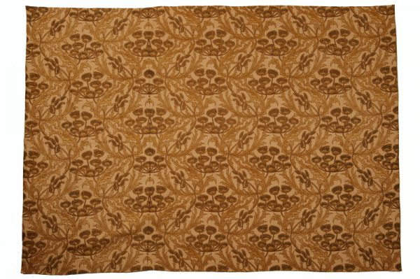 A large Arts and Crafts woven silk & cotton panel-0