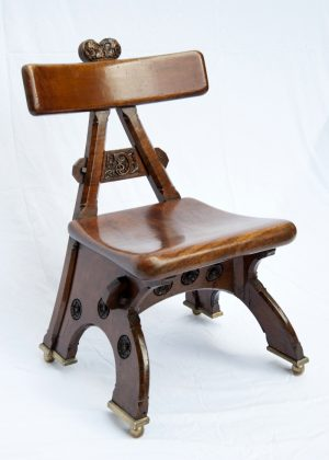 A rare walnut ' Granville ' chair -0