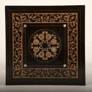 An inlaid plant or lamp stand-515