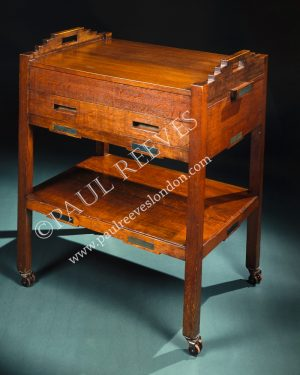 A tea trolley by C.R.Mackintosh-0