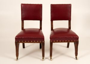 A pair of Gothic Revival chairs -623