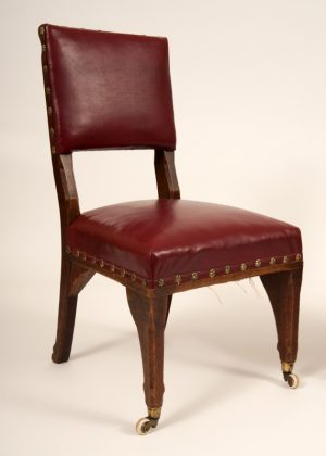A pair of Gothic Revival chairs -624
