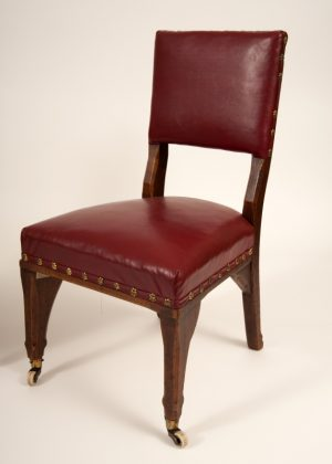 A pair of Gothic Revival chairs -626