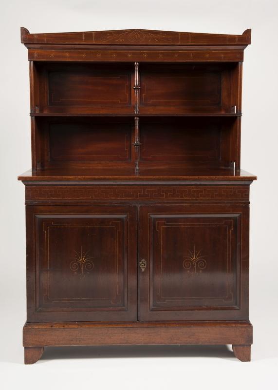 A mahogany cabinet -0