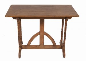 An ash Gothic Revival table-0