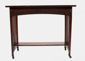 An oak Glasgow style table-0