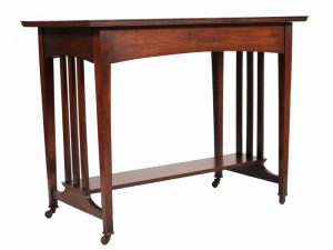 An oak Glasgow style table-693