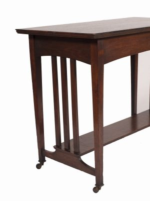 An oak Glasgow style table-698