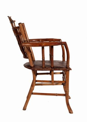 A bamboo Aesthetic Movement chair-755