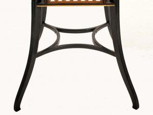 A Lamb of Manchester ebonised table -927