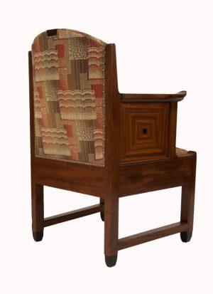 An Amsterdam School armchair-1007