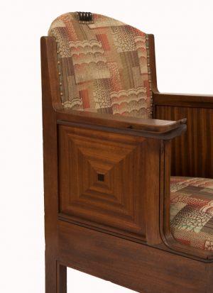 An Amsterdam School armchair-1011