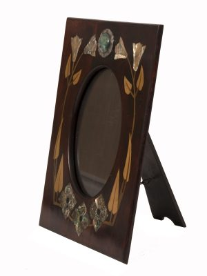 An inlaid Arts and Crafts frame-1120