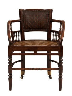 A pair of chairs -1128