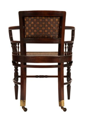 A pair of chairs -1121