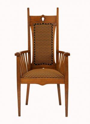 A Glasgow School armchair-0