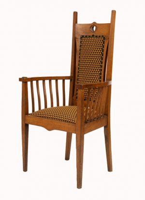 A Glasgow School armchair-1134