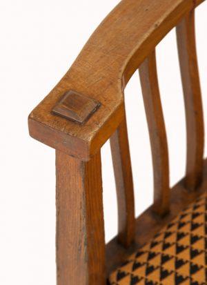 A Glasgow School armchair-1135