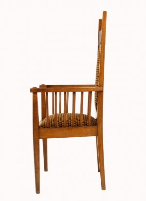 A Glasgow School armchair-1133
