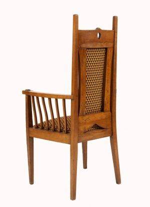 A Glasgow School armchair-1131