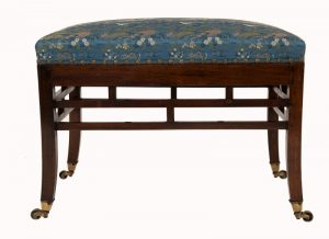 A Bombay Art furniture stool-0