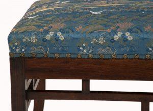 A Bombay Art furniture stool-1054