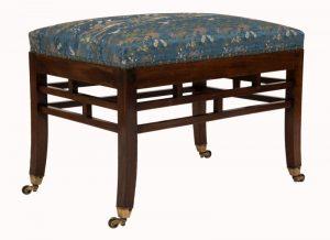 A Bombay Art furniture stool-1059