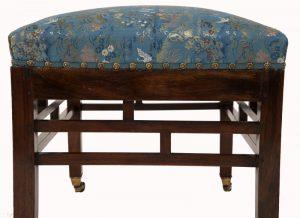 A Bombay Art furniture stool-1055