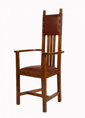 A set of ten chairs -1087