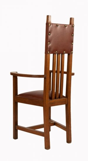 A set of ten chairs -1085