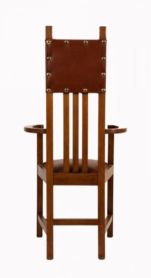 A set of ten chairs -1086