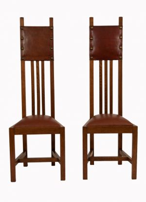 A set of ten chairs -1089