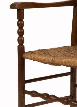 A ladderback armchair-1141
