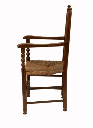 A ladderback armchair-1142